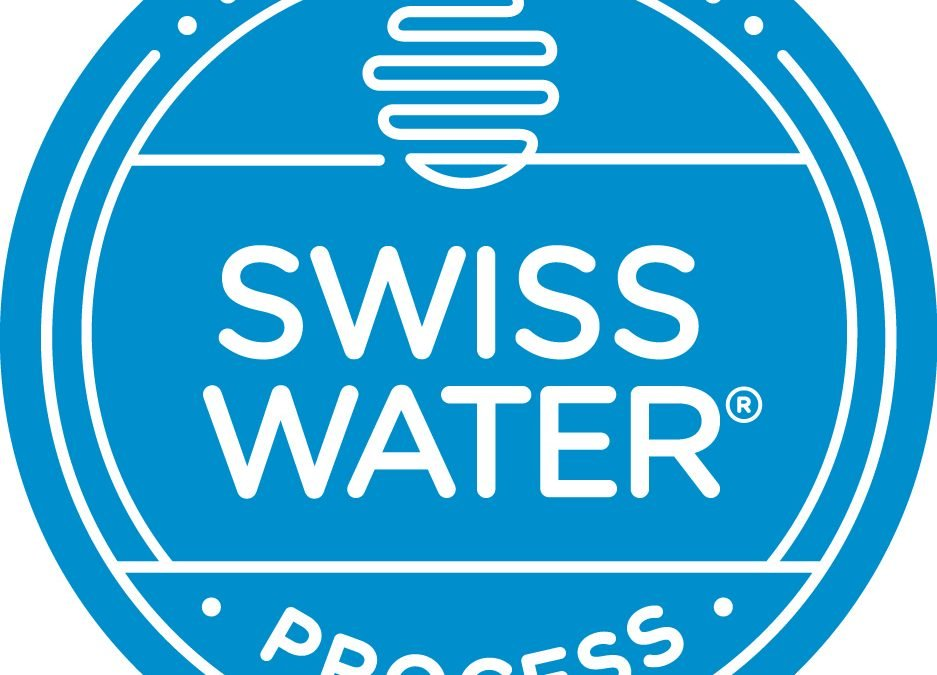 Swiss Water Process used to Decaffeinate Coffee